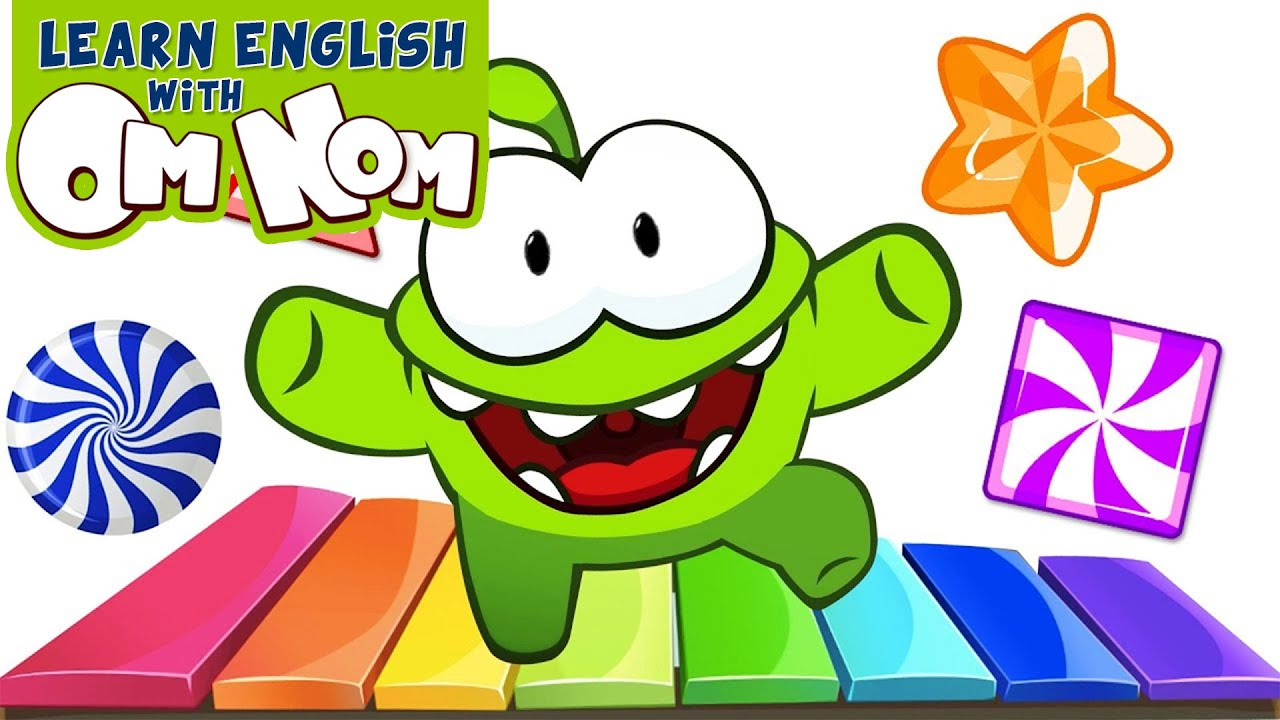 Om Nom Candy Fun | Learning Cartoons for Children | Learn English with Om Nom