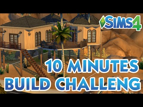 The Sims 4 - 10 Minutes Build Challenge FAIL?!