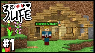 A DEADLY NEW ADVENTURE!! | Minecraft 3rd Life SMP | #1