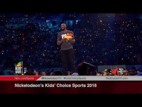 Nickelodeon's Kids' Choice Sports 2016
