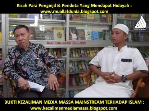 HEBOH.. BIKIN SHOCK KRISTEN ! DIALOG 3 MANTAN PENDETA TENTANG KENAPA MEMELUK ISLAM..