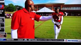 Julio Jones vs Deion Sanders