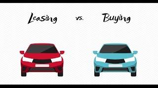 Auto Leasing vs. Buying