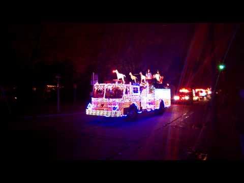 AUDUBON NJ CHRISTMAS PARADE 2013