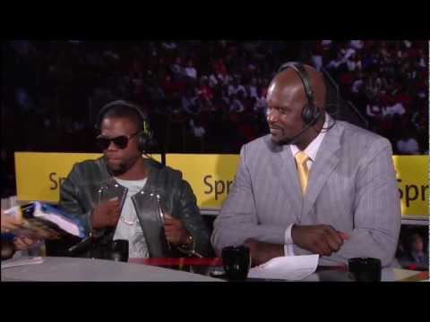 Kevin Hart on the Inside the NBA 2013 All Star Game half time show