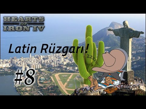 Tutmadı Tutmuyor! | Hearts of Iron 4 | Latin Rüzgarı | Multi - Bölüm 8