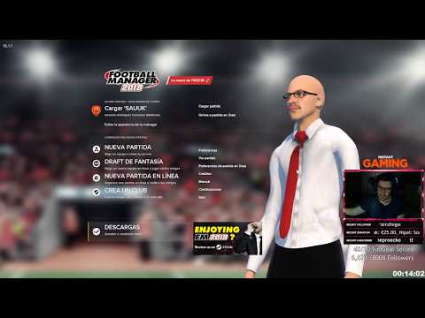"""""""MODO MANAGER ONLINE"""" FOOTBALL MANAGER 2018"""