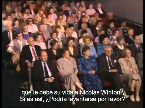 Sobrevivientes del Holocausto  Los Niños de Nicolás Winton   Documental subtitulado en español