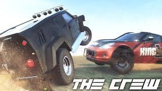 The Crew EP31 | Online Great Sand Dune Raid #TeamPanthaa | Thrustmaster Wheel Cam