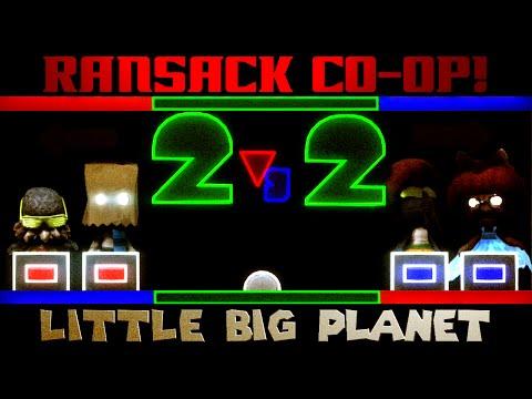 RANSACK 2v2 SHENANIGANS! (Little Big Planet)