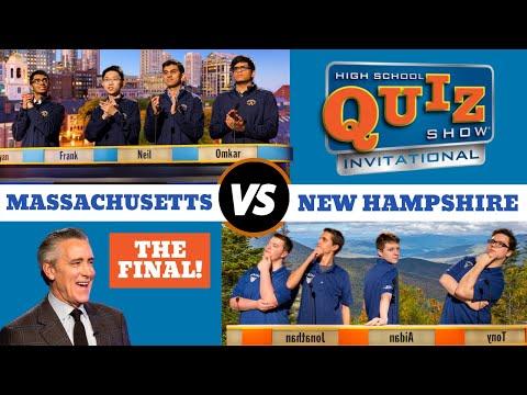 High School Quiz Show - Invitational Championship: Massachusetts vs. New Hampshire (918)