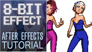 8-Bit Animation Effect - After Effects Tutorial