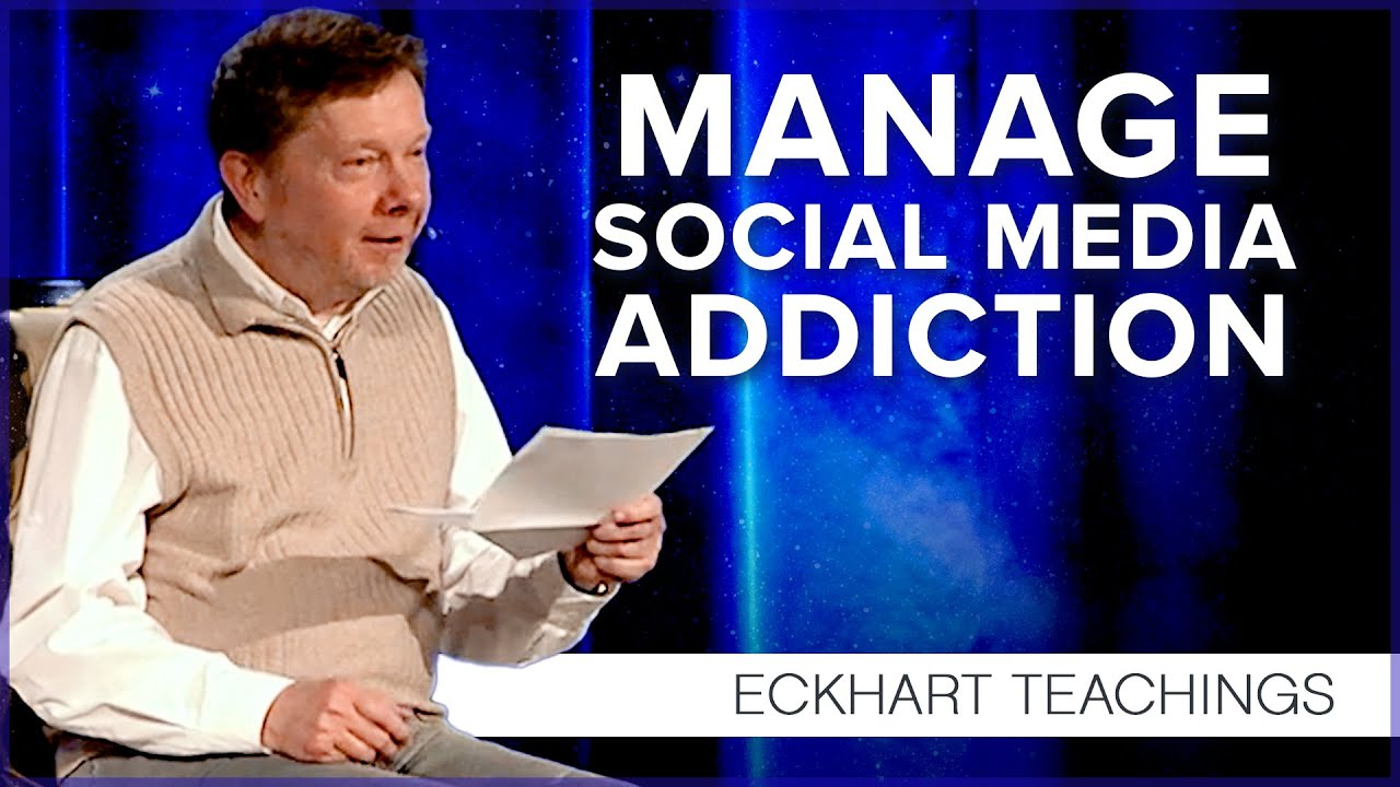 Managing your addiction to technology   Eckhart Tolle Teachings
