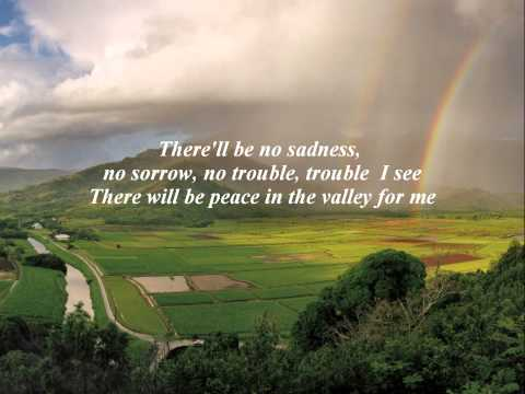 WHISPERS OF MY FATHER - PEACE IN THE VALLEY by John Anderson with Lyrics