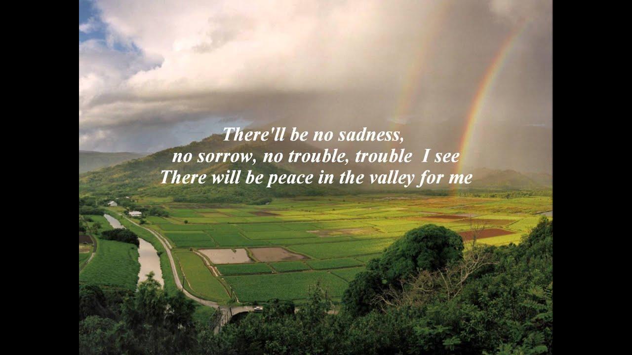 Johnny Cash - Peace In The Valley Lyrics | MetroLyrics