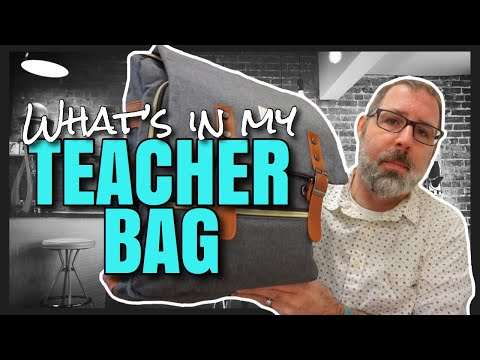 What's In My Teacher Bag | The First Grade Cafe