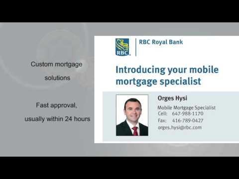Orges Hysi - RBC Royal Bank Mobile Mortgage Specialist