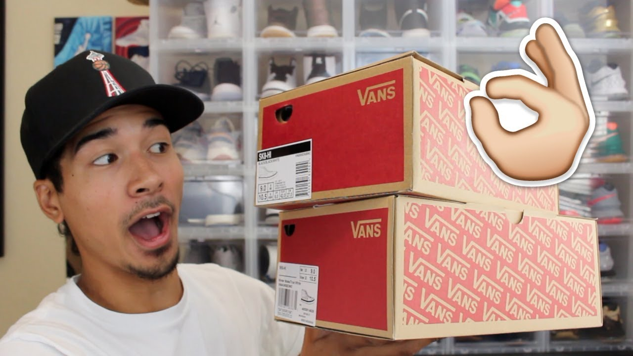 BEST BACK TO SCHOOL SHOES BY FAR!! Vans Unboxing! - YouTube 14f146a6bf66