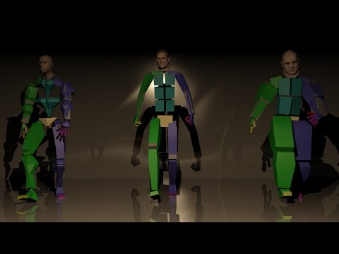 Animating a biped in 3ds Max Part 1