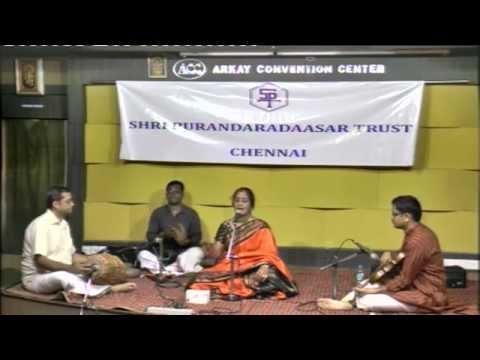 SHRI PURANDARADASAR TRUST 2015-Jayasri Jayaramakrishnan - Vocal