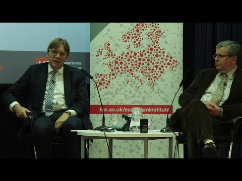 LSE Events | Guy Verhofstadt | The Future Of Europe Post Brexit