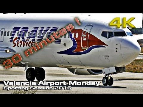 Valencia Airport Monday Session 2016 [4K]