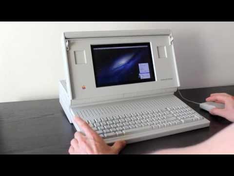 Macintosh Portable running OS X