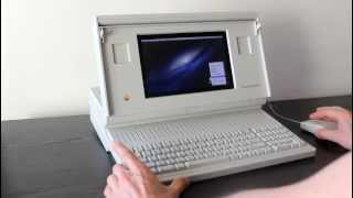 Macintosh Portable running OS X