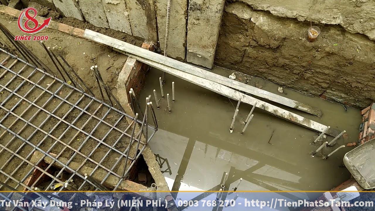 Tham Quan Công Trình Có Hầm… Làm Hầm Có Gì Khó ??   Xây Dựng Nhà Phố