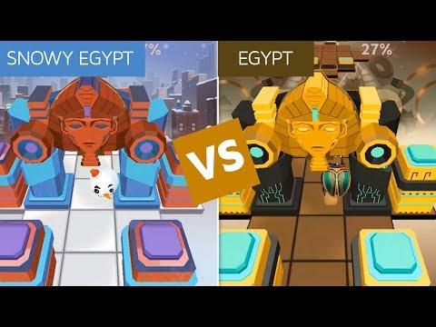 Rolling Sky Snowy Egypt Vs Egypt (ReSkinned Version) | SHA