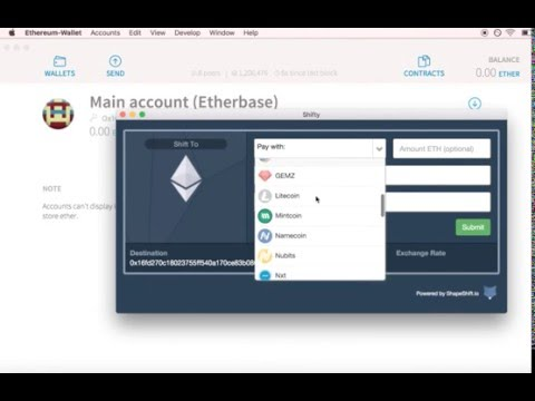 How to Back up and load the Ethereum Wallet