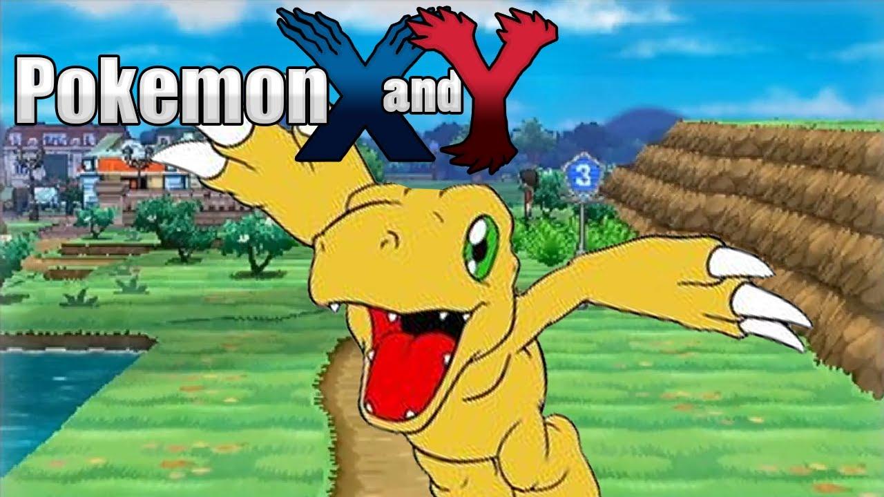 Pokémon X And Y Episode 1 Youtube