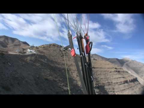 Paragliding Goodsprings Ridge Soaring Las Vegas Desert Skywalkers