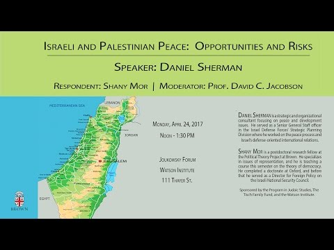 Israeli-Palestinian Peace: Opportunities and Risks