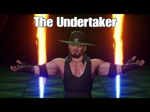 WWE 2K Battlegrounds - The Undertaker vs Kane [One-on-One Match / WWE Mode]  