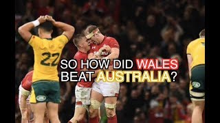 So How Did Wales Finally Beat the Wallabies? | Wales 9-6 Australia | The Squidge Report