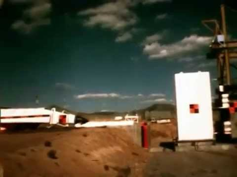 F-4 Phantom Jet Aircraft Crash Test HD