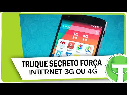 Conheça truque secreto que força o 3G ou 4G no android