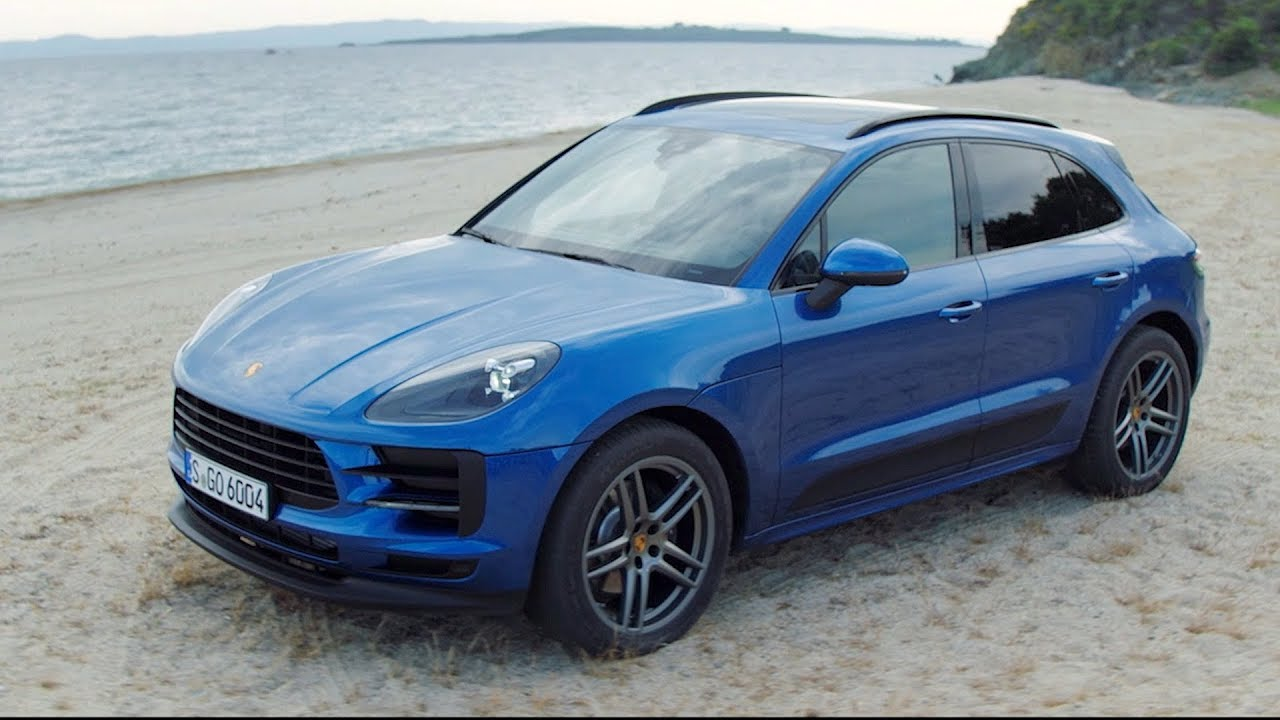 2019 Porsche Macan Sapphire Blue Metallic Exterior Interior Youtube