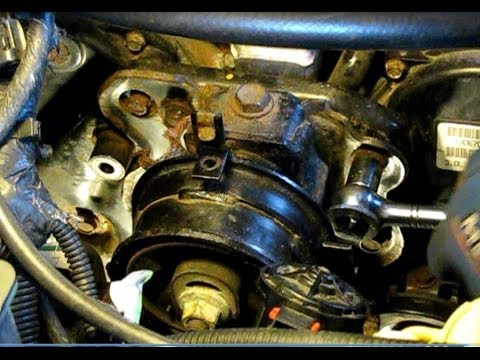 Dodge Caravan 30L replacing timing belt water pump and front – Dodge Caravan 3 3 Engine Mount Diagram
