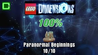 Paranormal Beginnings   All Minikits / Rescue   Ghostbusters 2016 Story Pack   Lego Dimensions