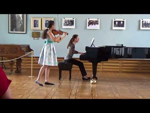 Mendelssohn Violin Concerto in E Minor - by Victoria Zakaryan 12 years