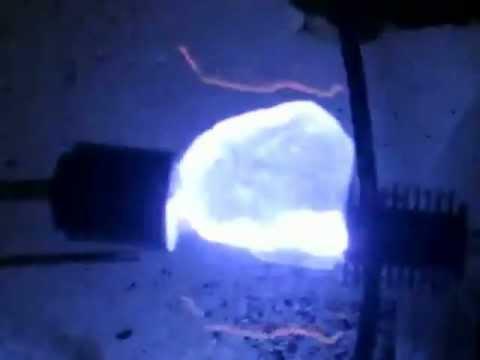 HUTCHISON effect: STABILIZED Quartz Crystal HIGH VOLTAGE Resonator