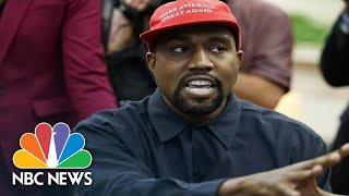 President Donald Trump On Kanye West At White House: \'That Was Quite Something\' | NBC News
