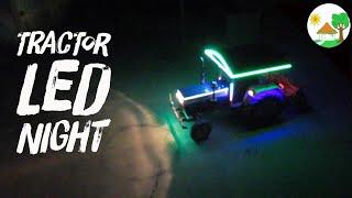 Swaraj 744 FE TRACTOR LED Light Fittings / LED NIGHT Effect for Swaraj Tractor - नेतृत्व में प्रकाश