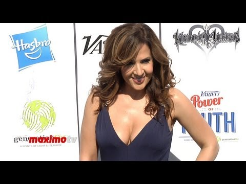 Maria CanalsBarrera at Variety's 7th Annual Power of Youth Green Carpet Arrivals