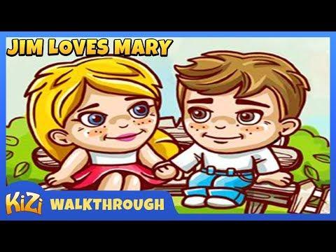 [Kizi Games] Jim Loves Mary → Walkthruogh