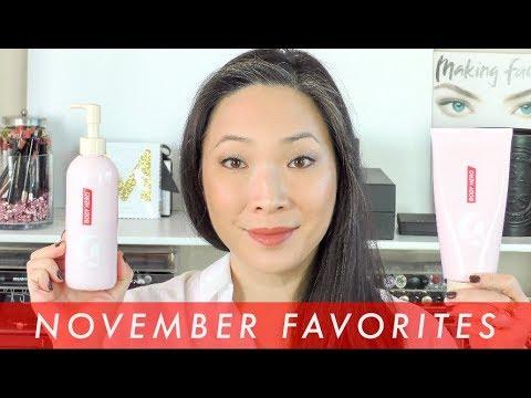 November Beauty Favorites / 2017