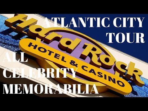 Hard Rock Hotel and Casino Atlantic City All Celebrity Memorabilia Tour | Hard Rock Casino Hotel