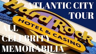 Hard Rock Hotel and Casino Atlantic City All Celebrity Memorabilia Tour | Hard Rock Casino Hotel